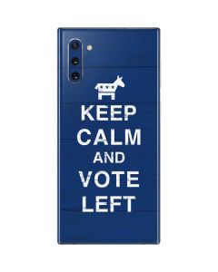 Keep Calm And Vote Left Galaxy Note 10 Skin