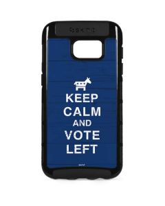 Keep Calm And Vote Left Galaxy S7 Edge Cargo Case