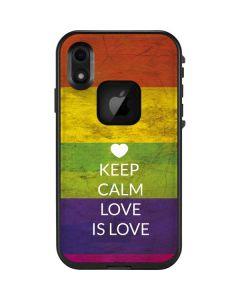 Keep Calm Love Is Love LifeProof Fre iPhone Skin