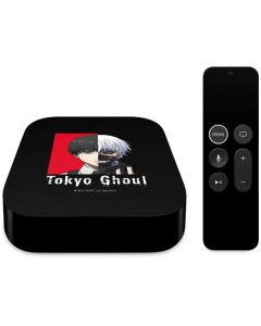 Ken Kaneki Black Split Apple TV Skin