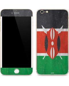 Kenya Flag Distressed iPhone 6/6s Plus Skin