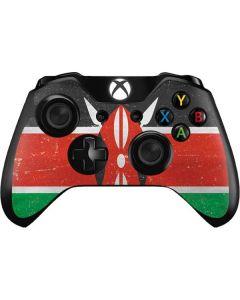 Kenya Flag Distressed Xbox One Controller Skin