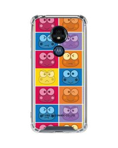 Keroppi Colorful Moto G7 Power Clear Case