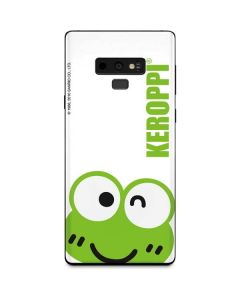 Keroppi Cropped Face Galaxy Note 9 Skin