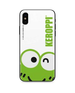 Keroppi Cropped Face iPhone XS Max Skin