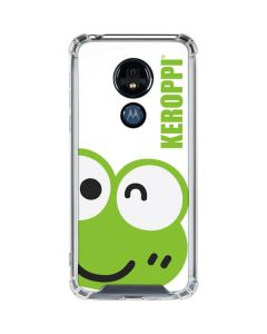 Keroppi Cropped Face Moto G7 Power Clear Case