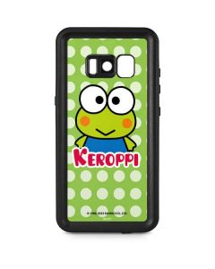 Keroppi Logo Galaxy S8 Waterproof Case