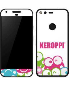 Keroppi Winking Faces Google Pixel Skin