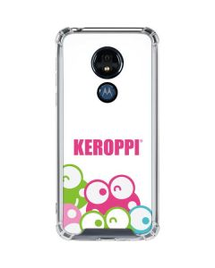 Keroppi Winking Faces Moto G7 Power Clear Case