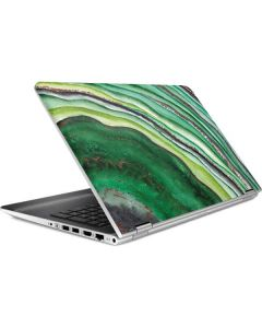 Kiwi Watercolor Geode HP Pavilion Skin