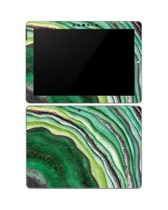 Kiwi Watercolor Geode Surface Go Skin