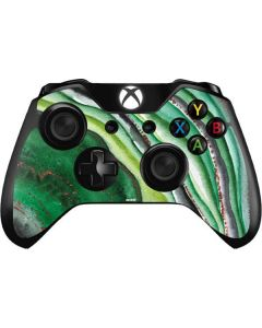 Kiwi Watercolor Geode Xbox One Controller Skin