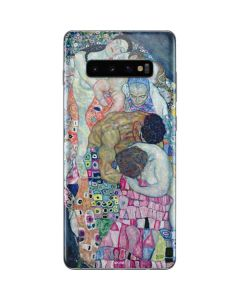 Klimt - Death and Life Galaxy S10 Plus Skin
