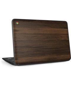 Kona Wood HP Chromebook Skin