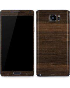 Kona Wood Galaxy Note5 Skin