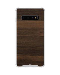Kona Wood Galaxy S10 Clear Case