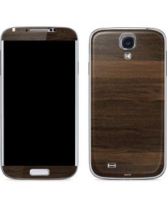 Kona Wood Galaxy S4 Skin