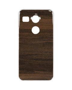 Kona Wood Google Nexus 5X Clear Case