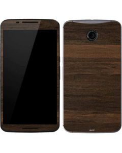 Kona Wood Google Nexus 6 Skin