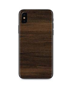 Kona Wood iPhone X Skin