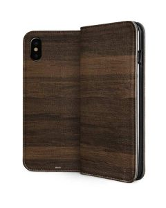 Kona Wood iPhone XS Max Folio Case