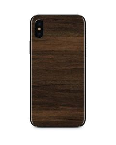 Kona Wood iPhone XS Skin