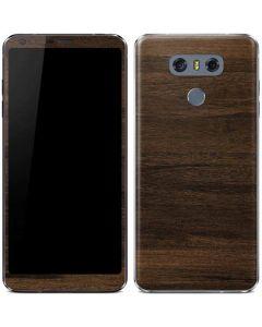 Kona Wood LG G6 Skin