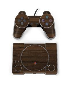 Kona Wood PlayStation Classic Bundle Skin
