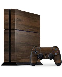 Kona Wood PS4 Console and Controller Bundle Skin