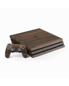 Kona Wood PS4 Pro Bundle Skin