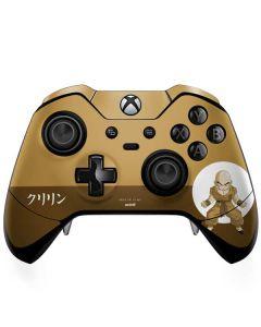 Krillin Monochrome Xbox One Elite Controller Skin