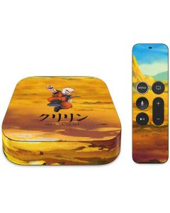 Krillin Power Punch Apple TV Skin