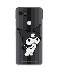 Kuromi Black and White Google Pixel 2 XL Skin