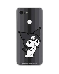 Kuromi Black and White Google Pixel 3 Skin