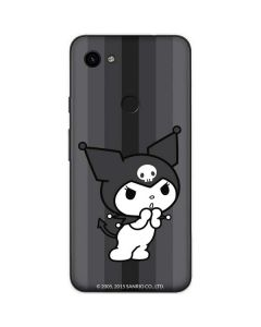Kuromi Black and White Google Pixel 3a Skin