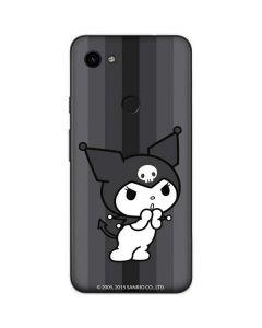 Kuromi Black and White Google Pixel 3a XL Skin