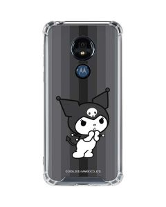 Kuromi Black and White Moto G7 Power Clear Case