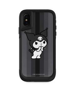 Kuromi Black and White Otterbox Pursuit iPhone Skin