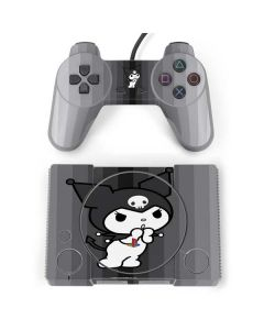 Kuromi Black and White PlayStation Classic Bundle Skin