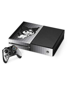 Kuromi Black and White Xbox One Console and Controller Bundle Skin