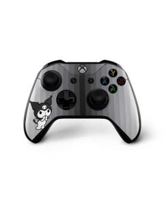 Kuromi Black and White Xbox One X Controller Skin