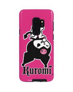 Kuromi Bold Print Galaxy S9 Plus Pro Case