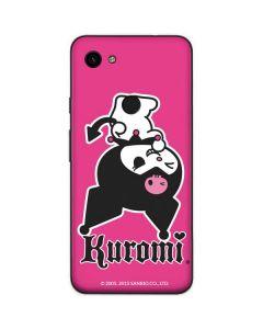 Kuromi Bold Print Google Pixel 3a Skin