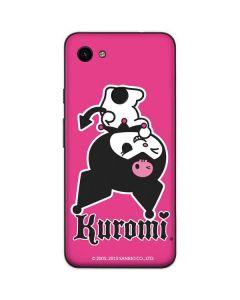 Kuromi Bold Print Google Pixel 3a XL Skin