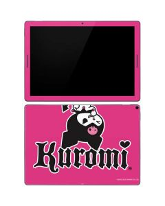 Kuromi Bold Print Google Pixel Slate Skin