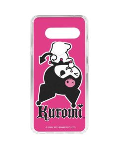 Kuromi Bold Print LG V40 ThinQ Clear Case
