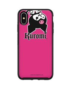 Kuromi Bold Print Otterbox Symmetry iPhone Skin