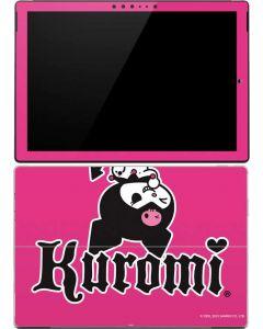 Kuromi Bold Print Surface Pro 4 Skin