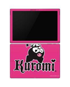 Kuromi Bold Print Surface Pro 6 Skin