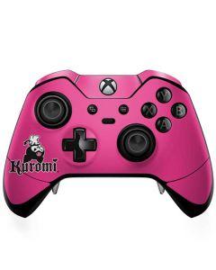 Kuromi Bold Print Xbox One Elite Controller Skin
